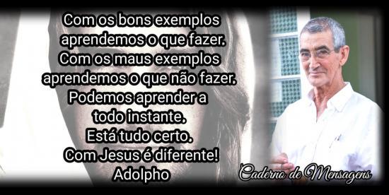 Com Jesus é diferente